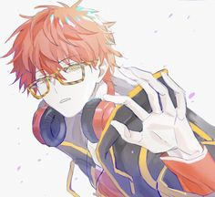 Mystic Messenger Yoosung, Luciel Choi, Mystic Messenger Characters, Saeran, Dibujos Cute, Anime Guys, Illustrations, Art Drawings, Anime Art