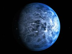 The blue beyond: Alien planet's color seen for first time  (Photo: M. Kornmesser / ESA / NASA)