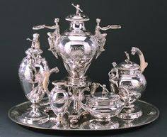Antique Sterling Silver Tea Set
