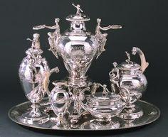 Antique Sterling Silver Tea Set