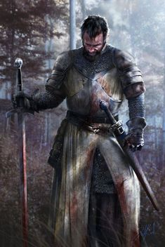 Blanco Cunnington. The knight who hates to kill, but understands it's either them or him. he is a well known protector of those who cannot defend them... - #blanco #cunnington #either #hates #knight #known #understands