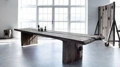 Møbler af træ fra nedlagte færgehavne. Læs mere på http://norubbish.dk/2015/04/thors-design/