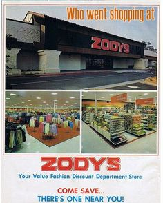 Remember Zodys?  My mom drug us here at least 3 times a week.  I remember they sold some strange animals in their pet section.