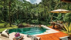 Four Seasons Resort Bali, Sayan: $2,000/night for River-Front One-Bedroom Villa Set in the heart of the Ubud rainforest, this resort offers beautiful views, relaxing lotus pools and gourmet dining