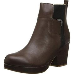 #Shoes #Apparel Jambu 8158 Womens Summit Brown Leather Ankle Boots Shoes 9 Medium (B,M) BHFO #Christmas #Gifts