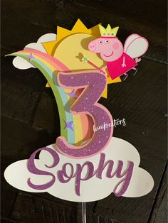 Excited to share this item from my shop: Peppa pig cake topper, peppa pig, peppa pig party, peppa Toy Story Cake Toppers, Toy Story Cakes, Peppa Pig Party Supplies, Peppa Pig Party Ideas, Aniversario Peppa Pig, Cumple Peppa Pig, Peppa Pig Birthday Cake, Diy Cake Topper, 3rd Birthday Parties