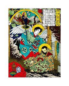 SECOND DREAM of ST. JOSEPH by Daniel Mitsui
