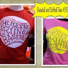 Baseball and Softball Tees