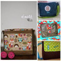Stoff & Liebe: Paul(ine) Kindergartentasche freebook