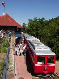 Hike up, and then take the cog rail down.  See this website for rates ($22 if only taking train down, only good on last train of the day, leaves around 5:00)  Booking info here.