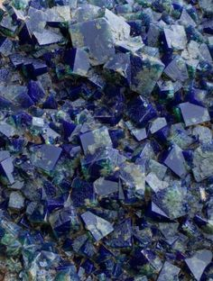A world-class specimen of fluorite was unearthed last week from the Rogerley mine in County Durham, Northern England. Really Huge Specimen, Picture is only one small detail of it.
