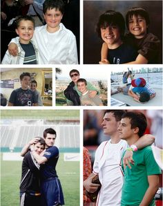 Their brotherly love is admirable. How i wish they have a little sister it will be amazing to have a little girl Hutcherson Josh And Jennifer, Hunger Games Cast, Celebrity Siblings, Josh Hutcherson, Brotherly Love, Love Me Forever, Kellin Quinn, Catching Fire, Mockingjay