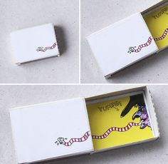 Tiny Matchboxes With Big Surprises! Diy Home Crafts, Crafts To Do, Crafts For Kids, Matchbox Crafts, Matchbox Art, Art O Mat, Diy Paper, Paper Crafts, Little Box