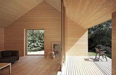 Haus Fohren in Austria, by Architekt Di Bernardo Bader