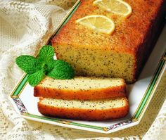 Lemon Poppy Seed Loaf Recipe // from Rose Reisman's The Complete Light Kitchen cookbook // House & Home