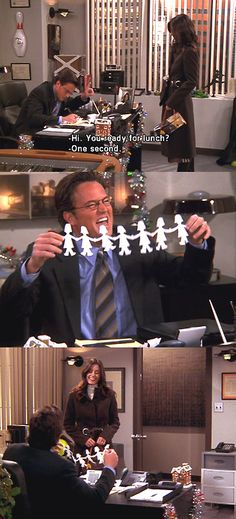 I think in another life, I was Chandler Bing... Because this is so me. Like, could this BE more Stacey? @Nichole Archer