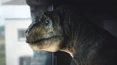 A Dejected T-Rex Gets Its Spirit Back in a Commercial for Audi Piloted Driving