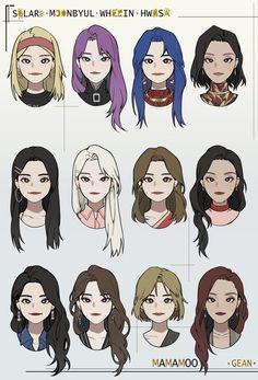 Kpop Drawings, Art Drawings Sketches Simple, Hair Drawings, Hair Reference, Art Reference Poses, Drawing Hair Tutorial, Pelo Anime, Hair Sketch, Art Poses