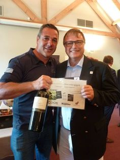 Winner Mastercook Golf - Mastercook Pierre Resimont!