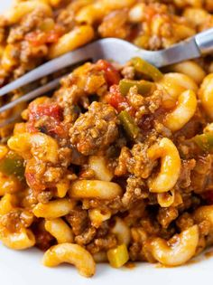 Beef Recipes For Dinner, Instant Pot Dinner Recipes, Easy Pasta Recipes, Ground Beef Recipes, Appetizer Recipes, Vegetarian Recipes, Cooking Recipes, Family Recipes, Beef Dishes