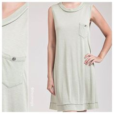 Summer can't get much cooler! $38 & available in sizes S, M, and L comment for PayPal or call to purchase! #dressmingle #summerdress #easywear #casualwear