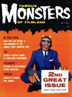 The Masks of Famous Monsters - Issue #2 | Blood Curdling Blog of Monster Masks