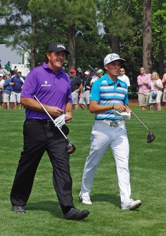 Phil Mickelson & Rickie Fowler