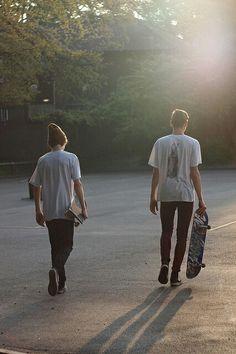Grr longboarding boys