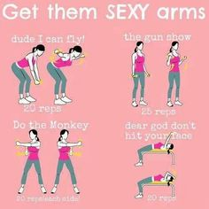 Lose your flabby arms