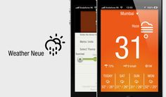 Minimalistic Droolworthy Weather - There's no shortage of weather apps on the App Store but we love that each week out of all the mail we get, there is that one weather app that makes us smile. Weather Neue is that app this week.