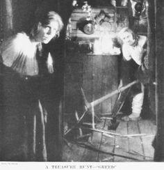 Greed 1924 Dale Fuller(FG) and Cesare Gravina(BG)