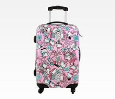 Sanrio hello kitty suitcase