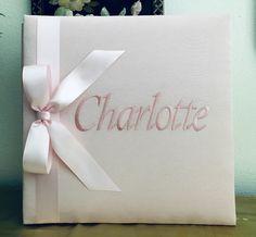 Personalized Photo Album Flower Girl Photo Album Baby Photo Albums Custom Jellyfish Photo Album Baby Shower Gift Custom Order