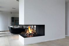 I've always adored fireplaces, and I must admit I love some of the modern versions available today.