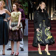 Blake Lively Dressing Like Blair Waldorf From Gossip Girl | POPSUGAR Fashion