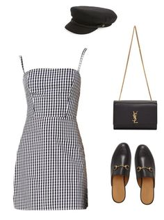 """Untitled #1787"" by marty9950 ❤ liked on Polyvore featuring Brixton, Gucci and Yves Saint Laurent"
