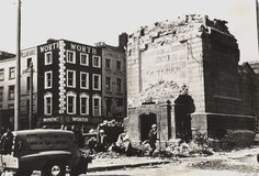 The morning after Easter Rising, Dublin, Old Photos, Mount Rushmore, Ireland, Street View, Mountains, History, 1960s