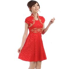 Buluos Fashionable Chinese Wedding Dress Qi Pao « Clothing Adds Anytime