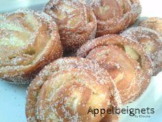 Deze appelbeignets misten ook nog ook mijn blog en dat kan natuurlijk niet, deze beignets zijn echt een van mijn favorieten! Zo luchtig ...