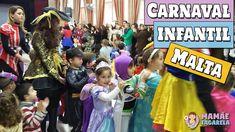 Carnaval Infantil em Malta