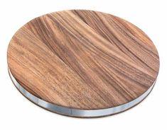 Round Chop - Steel edge, Engraved