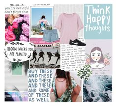 """""""IT'S MY PARTY AND I'LL CRY IF I WANT TO"""" by a-sparkly-girl ❤ liked on Polyvore featuring NIKE, WithChic and beautifulhalo"""