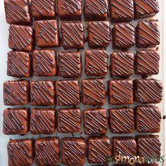 Chocolate Petit Fours by simonacallas