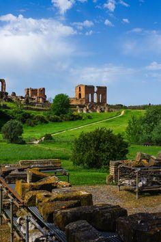 Roma. Villa dei Quintili.