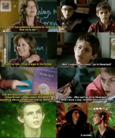 Robbie Kay in Ways to Live Forever....and in Once Upon A Time :) I guess he has always wanted to be Peter Pan...<---In hindsight, OUAT casting always has some sort of irony involved and this takes the cake!