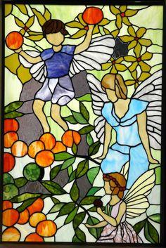 Tashiro Stained Glass  Fairies