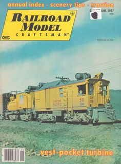 Are #trains your thing? How about this Railroad Model Craftsman June 1977 #Vintage #Collectible Magazine #RailroadModelCraftsman www.grammysbargains.com Click for details!