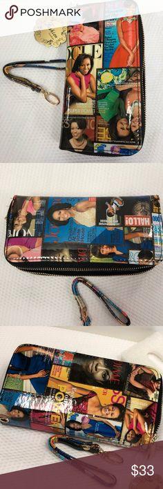 Michelle Obama Double Zipper/ Compartment Wallet Michelle Obama Double Zipper/ Compartment Wallet.Multi Color. Bags Wallets