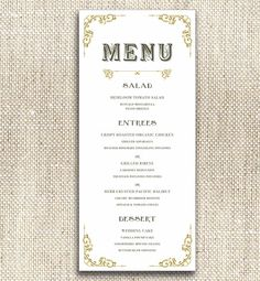 1000 images about wedding menu ideas on pinterest menu for Table 52 gaborone menu