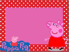 Peppa Pig in Red: Free Printable Kit.
